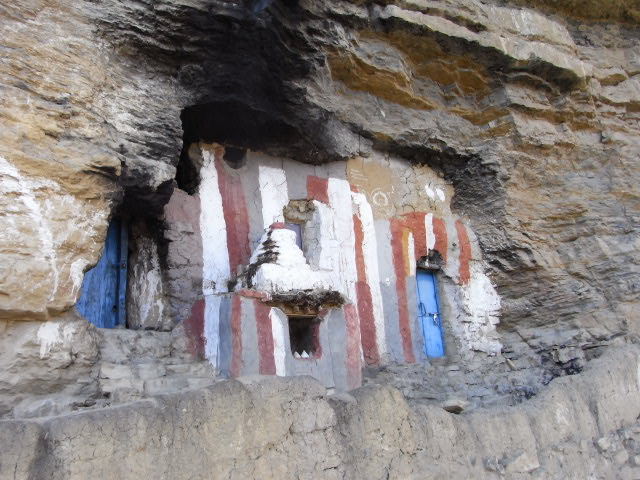 かつての修行窟