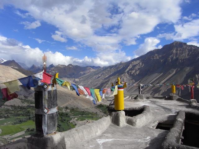 ダンカル寺からの風景