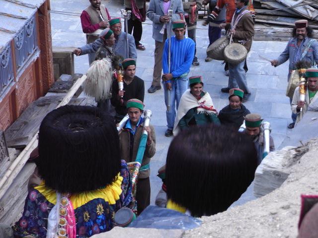カルパ村の御神輿