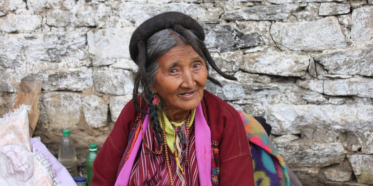 チャンリン村のおばあちゃん