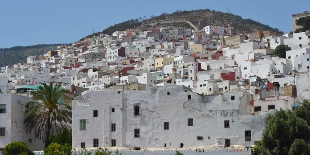 アンダルシア様式の街並み、ティトゥアン