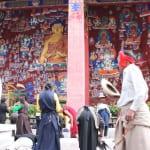 ラサの人々の祈りの場・チャクポリ(薬王山)の裏にあるサンゲドゥング