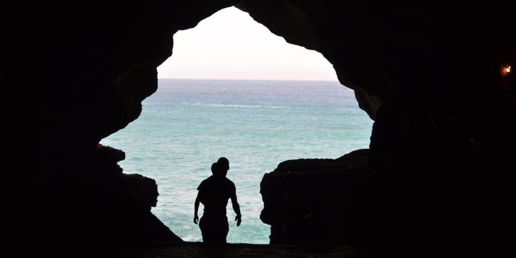 タンジェ郊外のヘラクレスの洞窟は神話の舞台にもなった