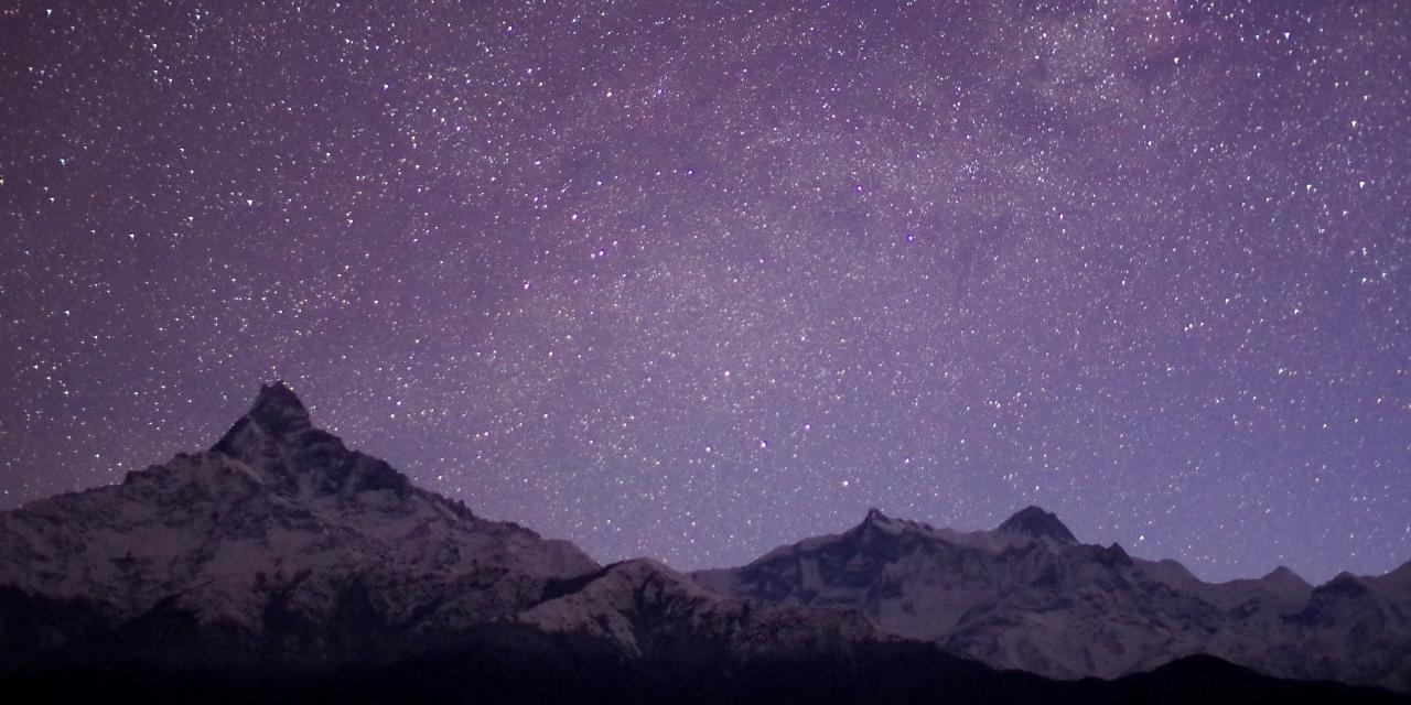 ヒマラヤ&星空の絶景にも期待できます