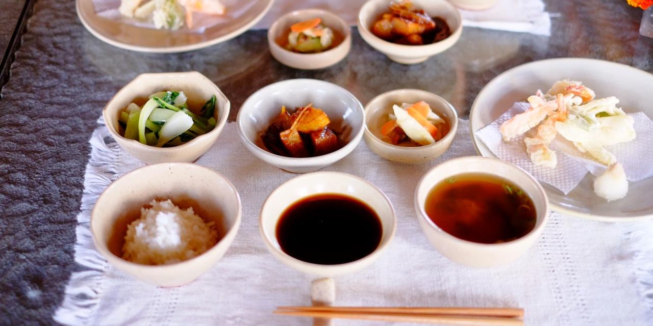 「はなのいえ」の食事は優しい味付けの和食が中心