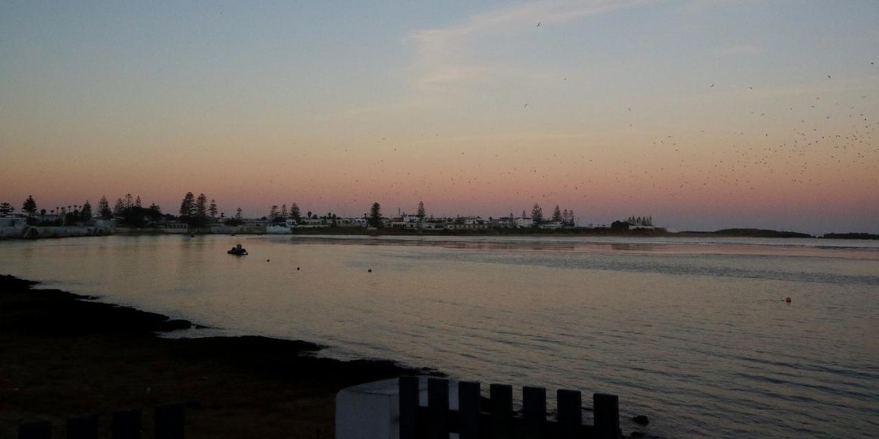 ワリディアの海は穏やかでした