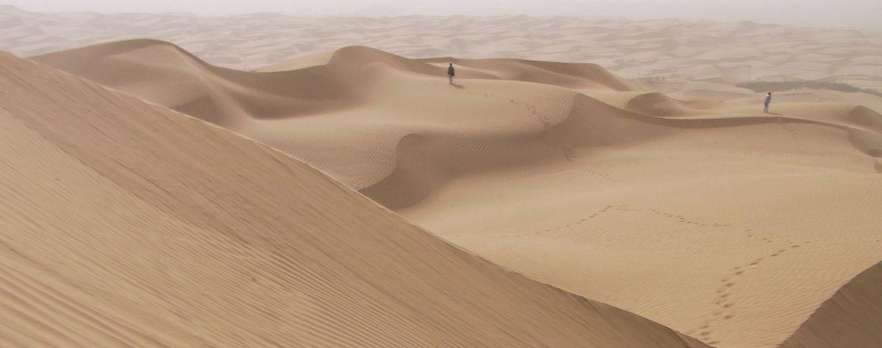 一度入ったら二度と出られない、という意味を持つ中国新疆ウイグル自治区のタクラマカン砂漠