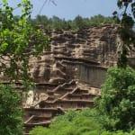 中国四大石窟にも数えられる天水の麦積山