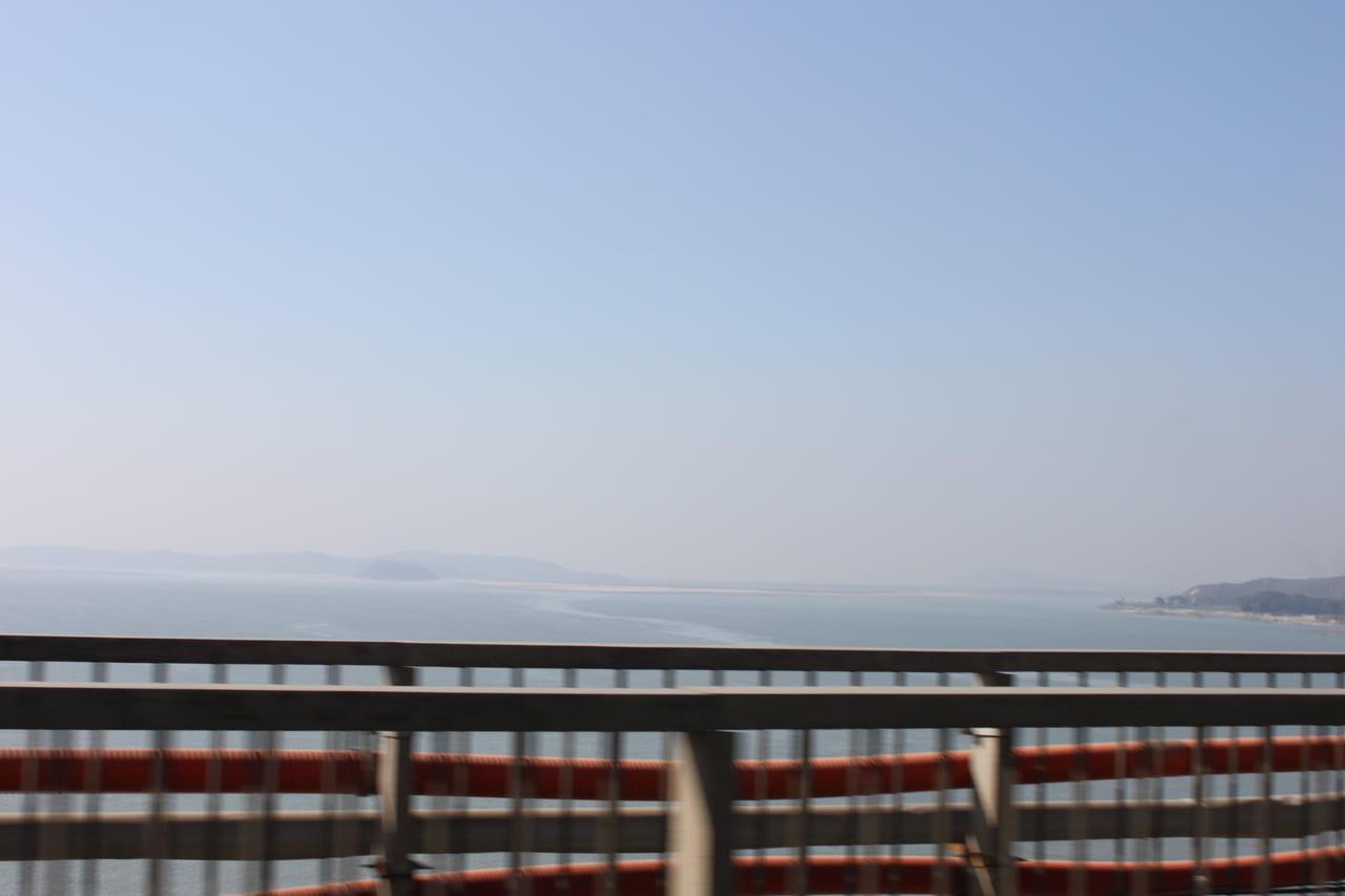 ブラマプトラ河に掛かる橋