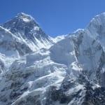 カラパタールからエベレストとヌプツェの展望