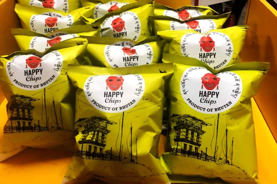 見つけたらハッピー! Happy chips