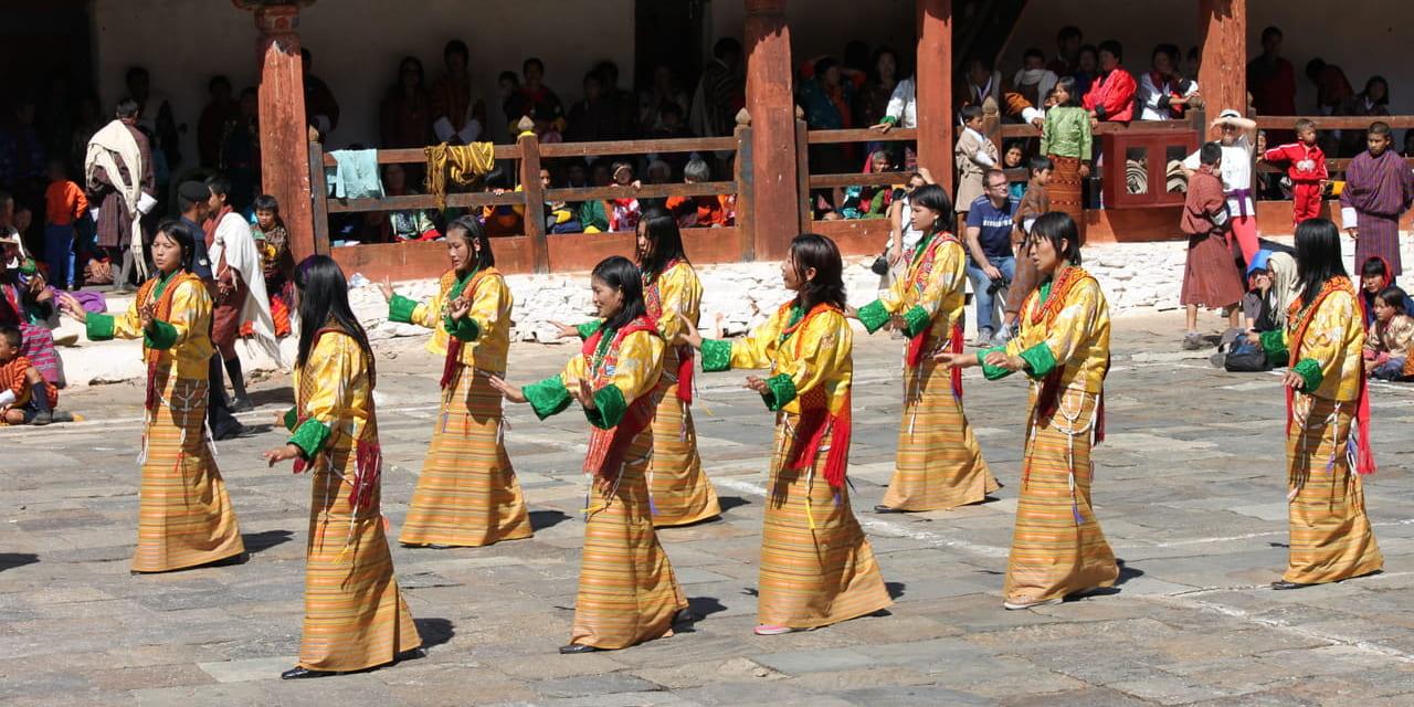 ツェチュ 村娘の踊り