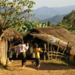 ラオス タチョーク村