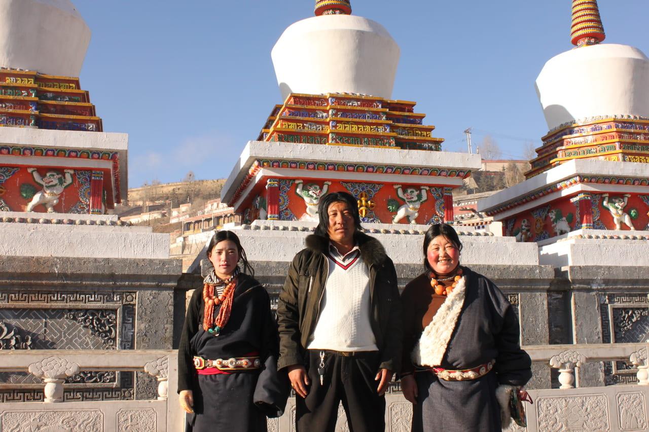 タール寺の巡礼者