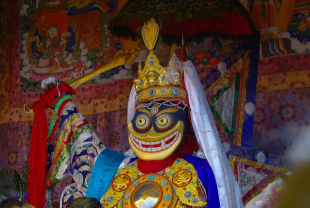 チベットを守る女神パンデンラモの化身ペーラモ