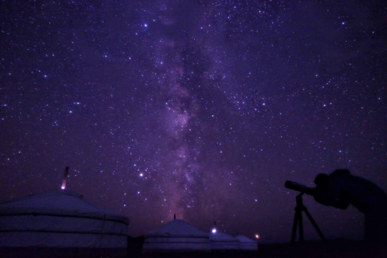 今年も満天の星空に出会えました