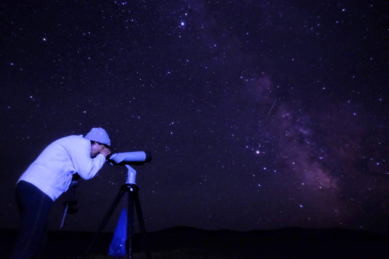 天体望遠鏡で少し遠くの宇宙に触れる