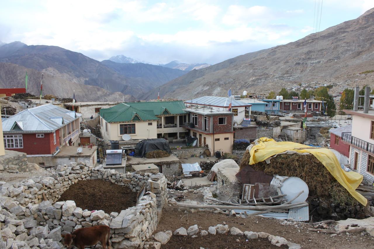 のんびりとしたナコ村