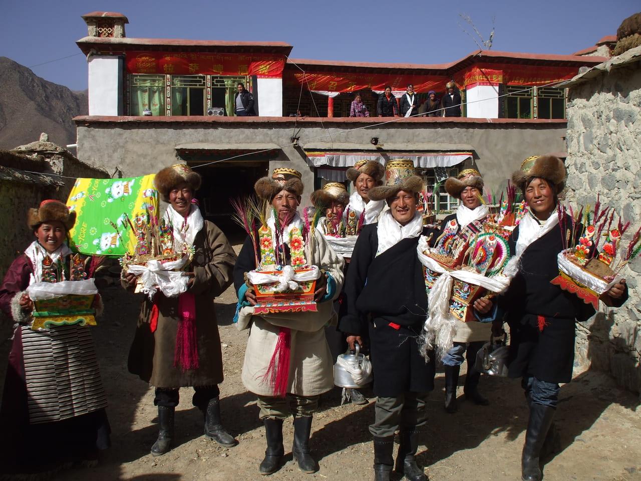 チベットのお正月(ロサール)