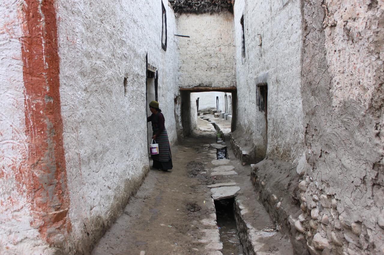 迷路のようなローマンタンの城内