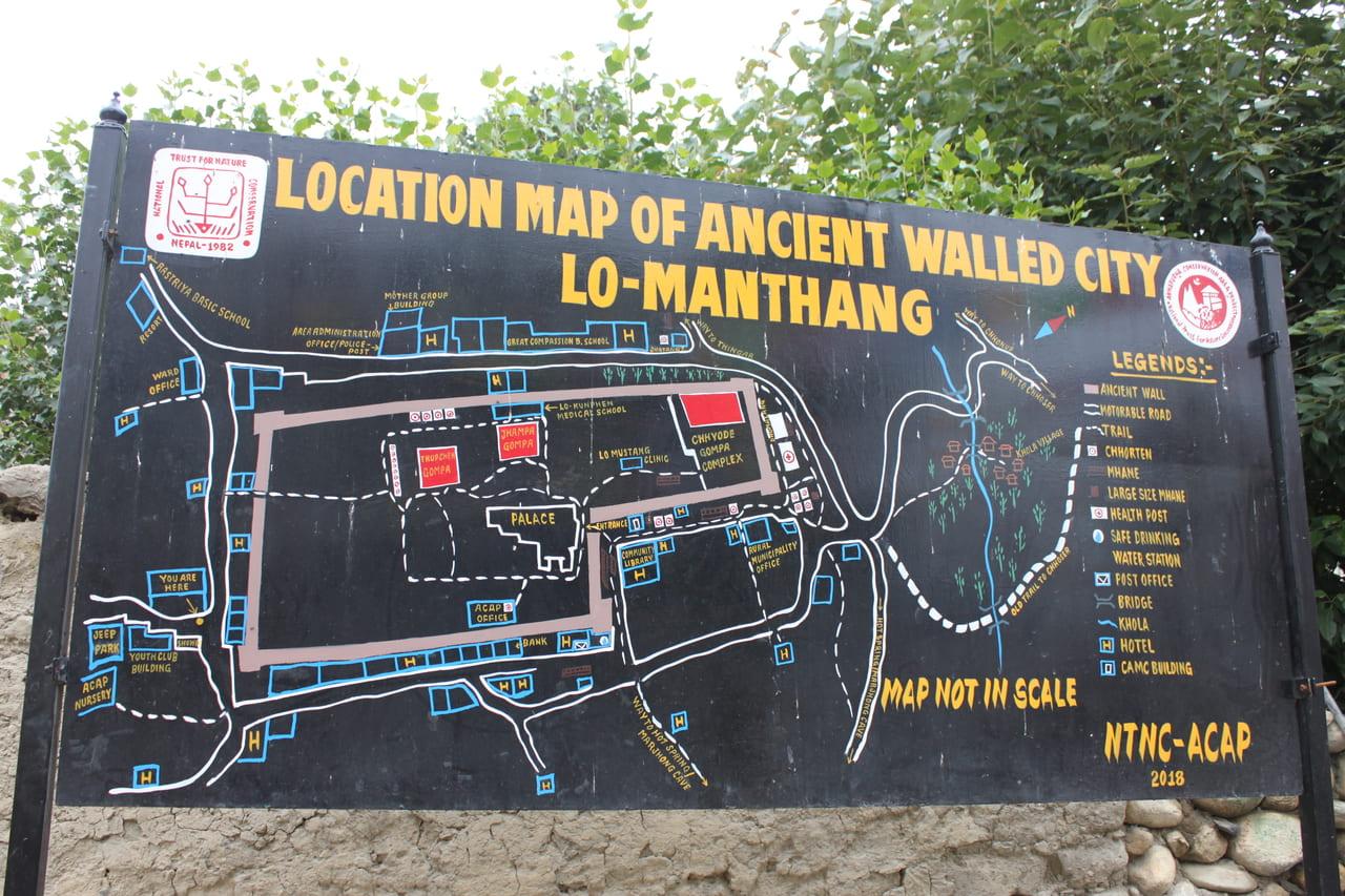 ローマンタンの地図