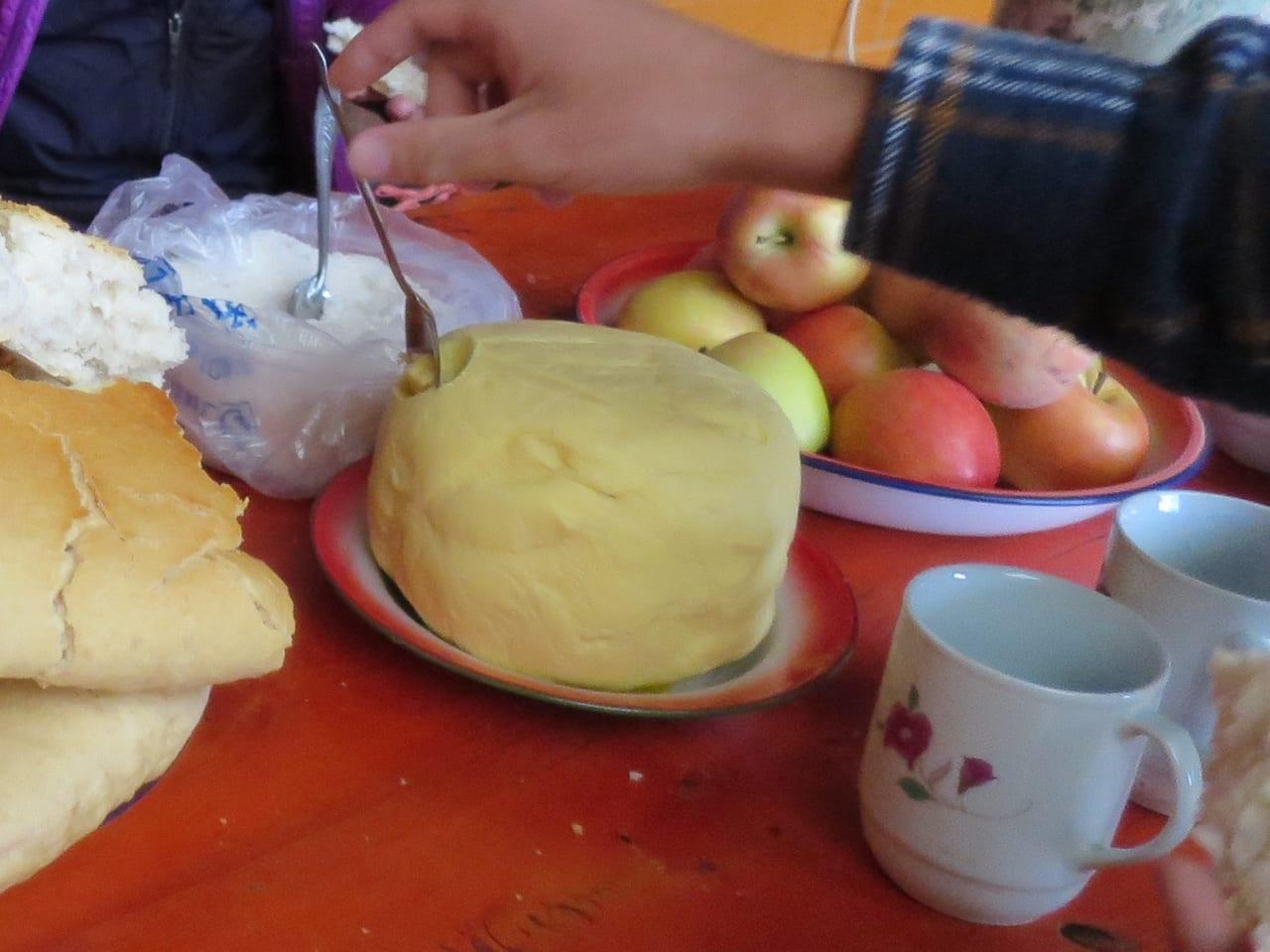 チベットのバター