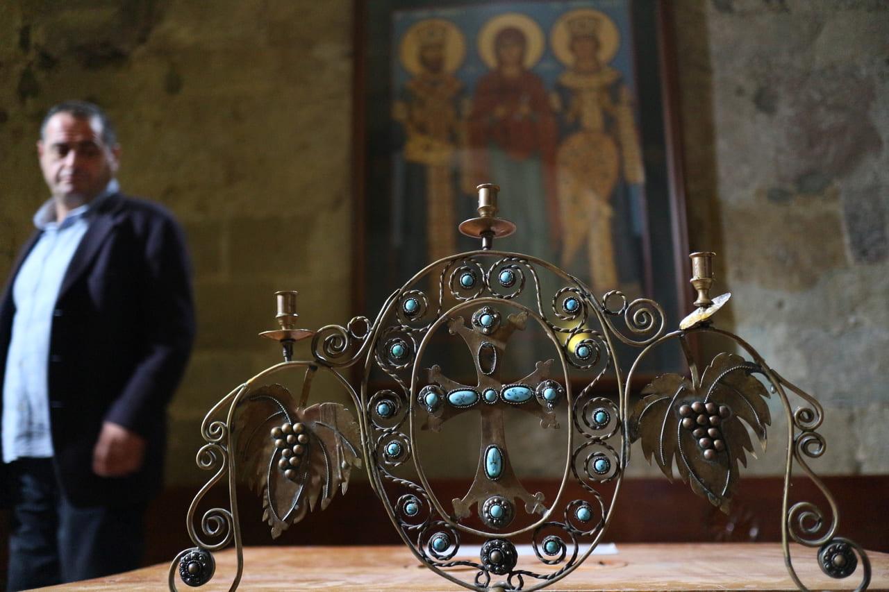 ジョージアは世界で2番目にキリスト教を国教にした国です(ムツヘタのスヴェティ・ツホヴェリ大聖堂)