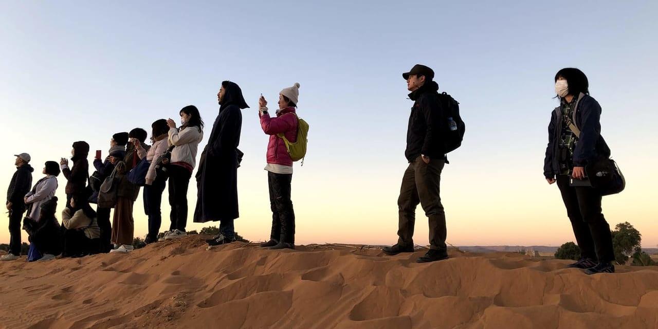 令和初の元旦をサハラ砂漠で迎える(ハミリア村)