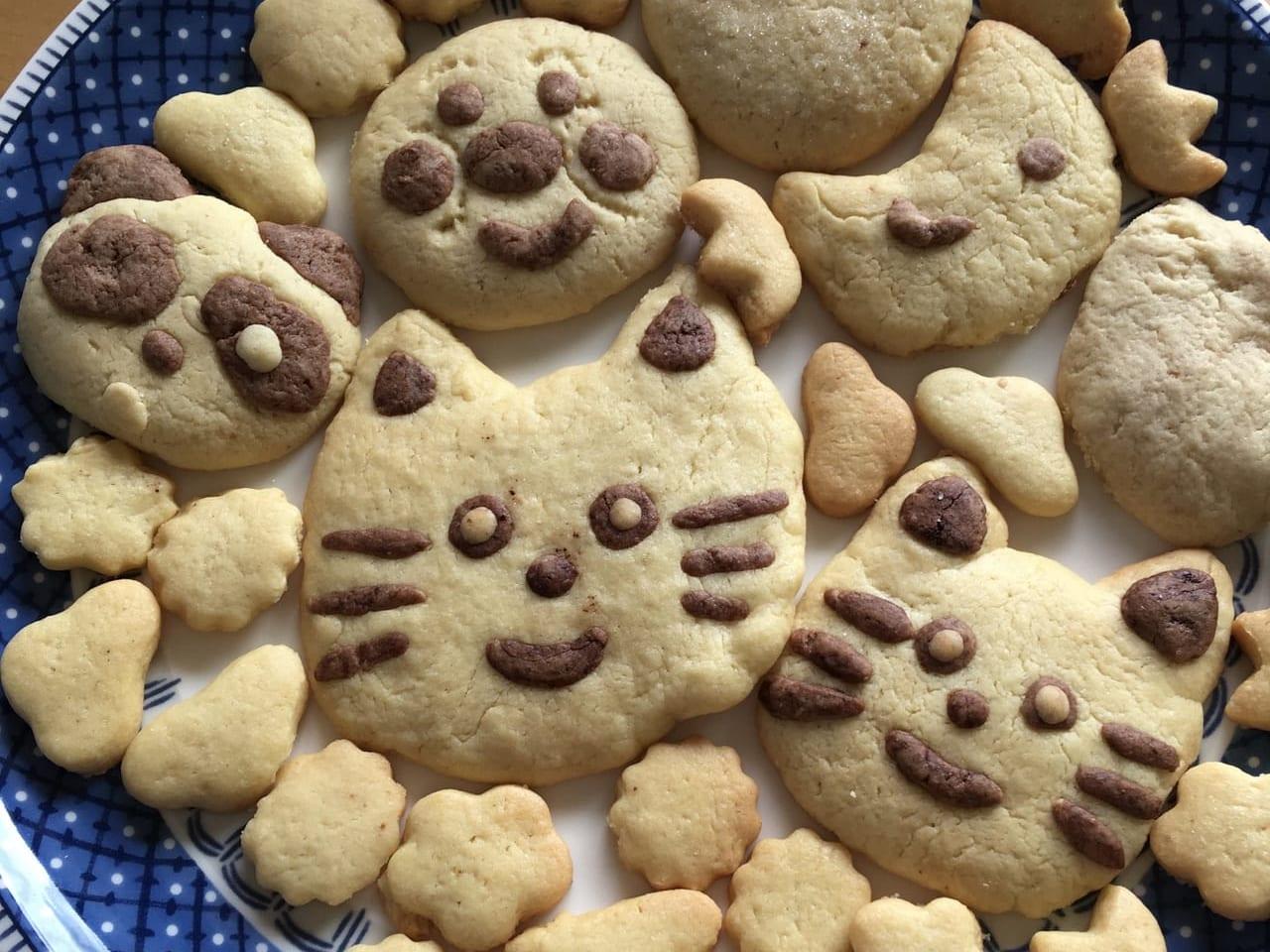 手作りクッキー完成!