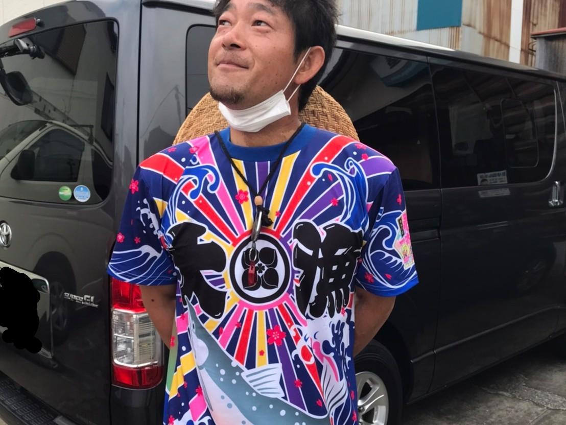大漁祈願の勝負Tシャツ!