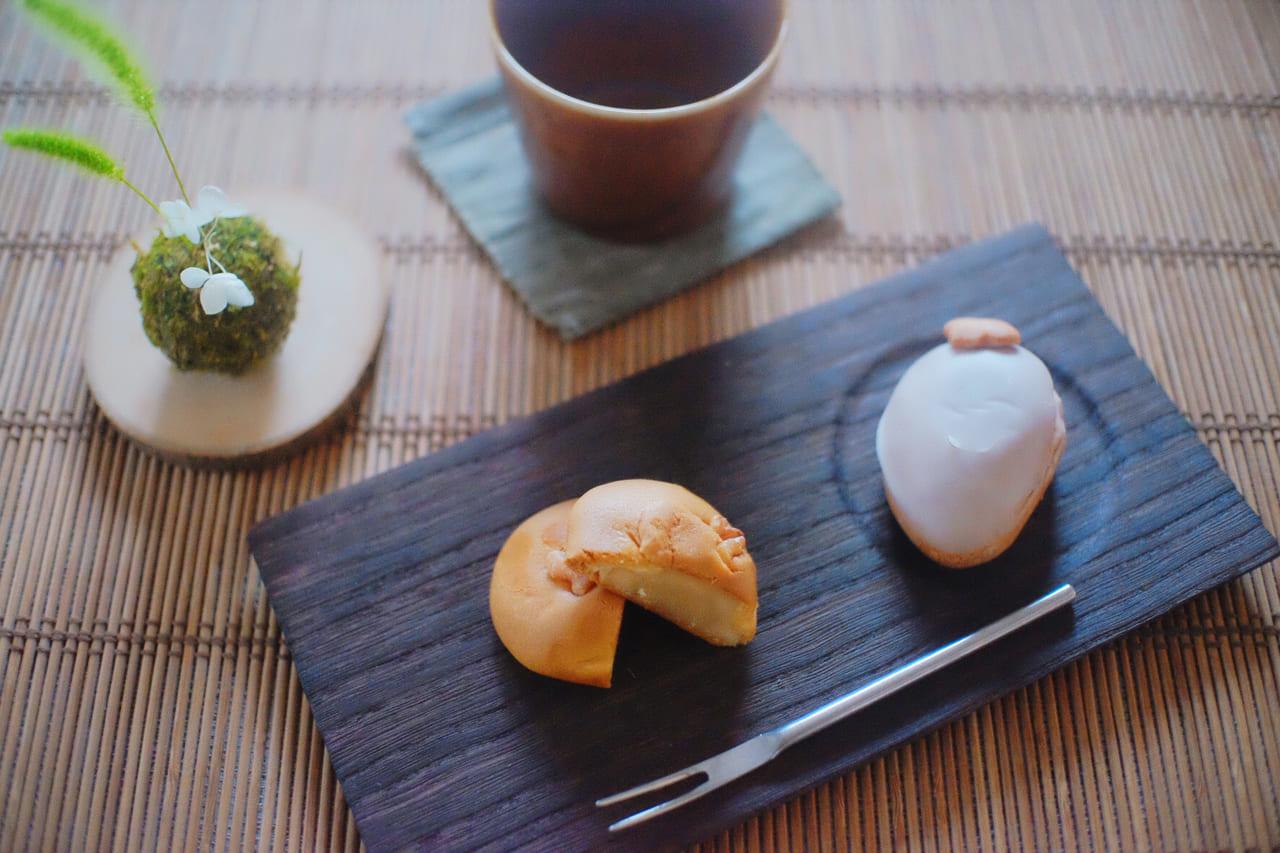 特選和菓子二種 胡桃と柿