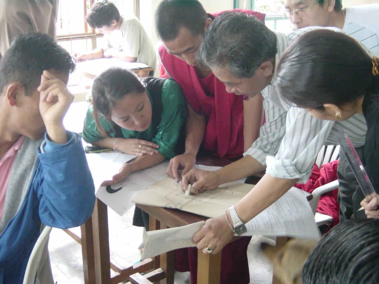 メンツィカン授業風景 2007年