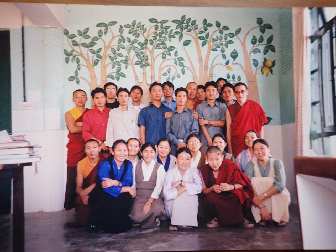 メンツィカン13期生 とチベット医学の樹木