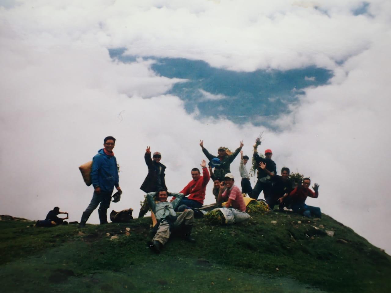 ヒマラヤ薬草実習 2002年