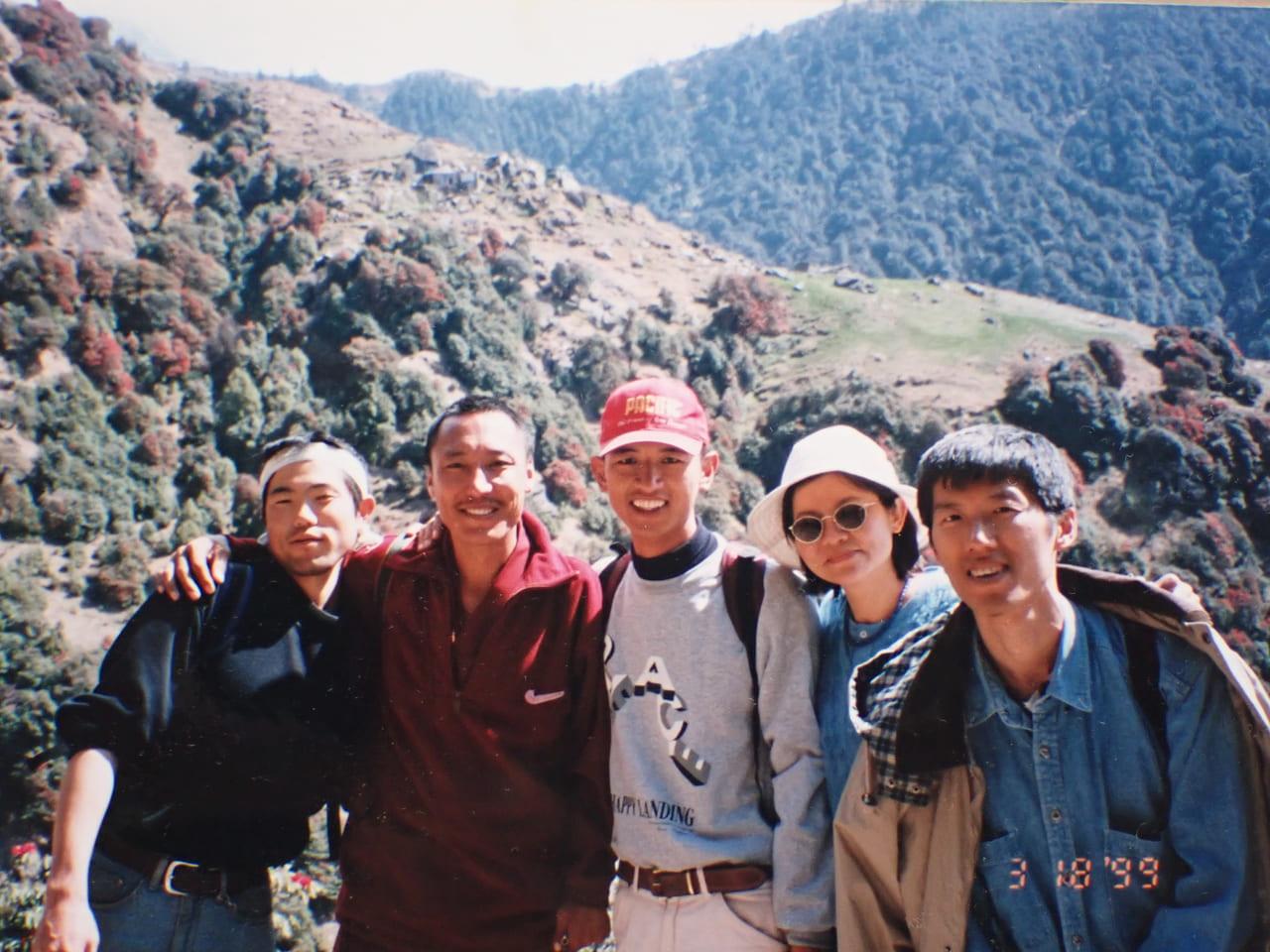 トリウンド山へピクニック 2000年