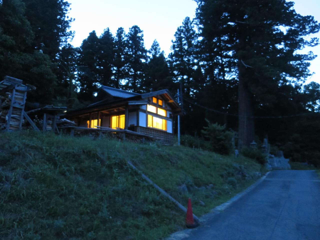 夕暮れの森のくすり塾